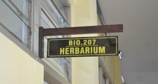 Papan Petunjuk Ruang Herbarium Malangensis